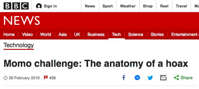 Truyền thông phương Tây khẳng định thử thách Momo chỉ là một chiêu trò lừa bịp - Ảnh 1.