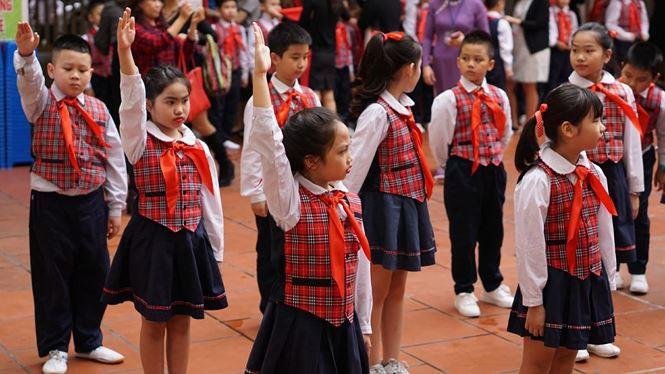 Ngôi trường có học sinh nhiều lần đón nguyên thủ quốc gia - Ảnh 4.