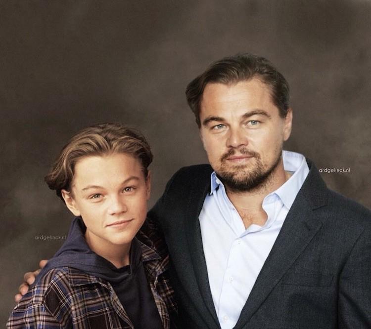 Nhờ phù thuỷ photoshop, các diễn viên đình đám Hollywood đã được về tuổi thơ gặp lại chính mình! - Ảnh 7.