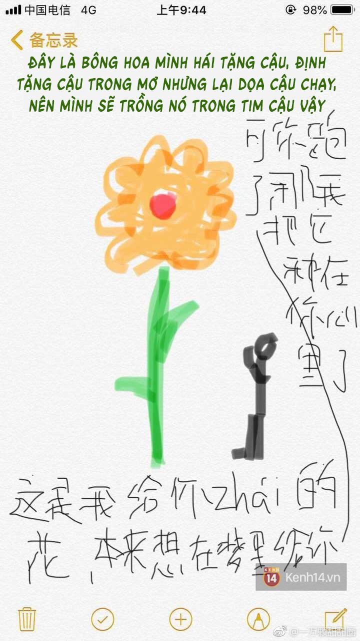 Biết bạn gái gặp ác mộng, chàng trai hóa thân luôn họa sĩ vẽ tranh an ủi siêu đáng yêu - Ảnh 6.