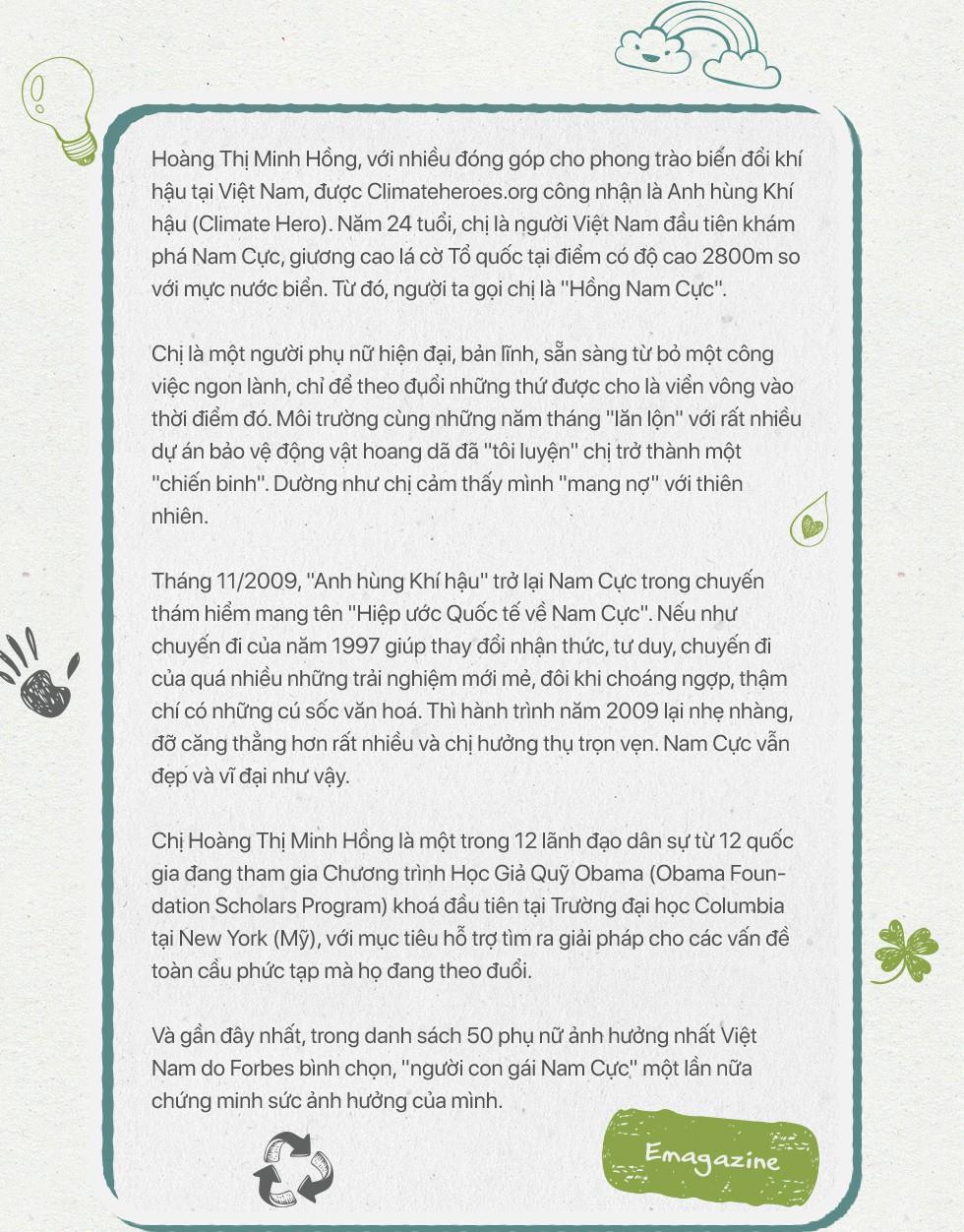 Nữ Anh hùng khí hậu Hoàng Thị Minh Hồng: Cai đồ nhựa cũng khó như bỏ thuốc lá! - Ảnh 1.