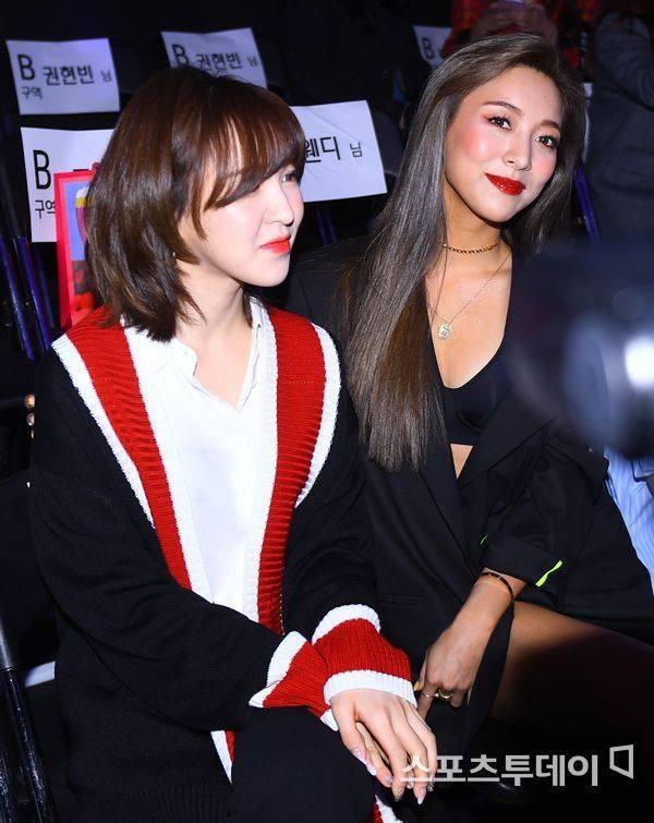 Wendy (Red Velvet) và Luna f(x) trong một khung hình: Cô em thiện lành bao nhiêu, cô chị nhìn gắt bấy nhiêu - Ảnh 3.