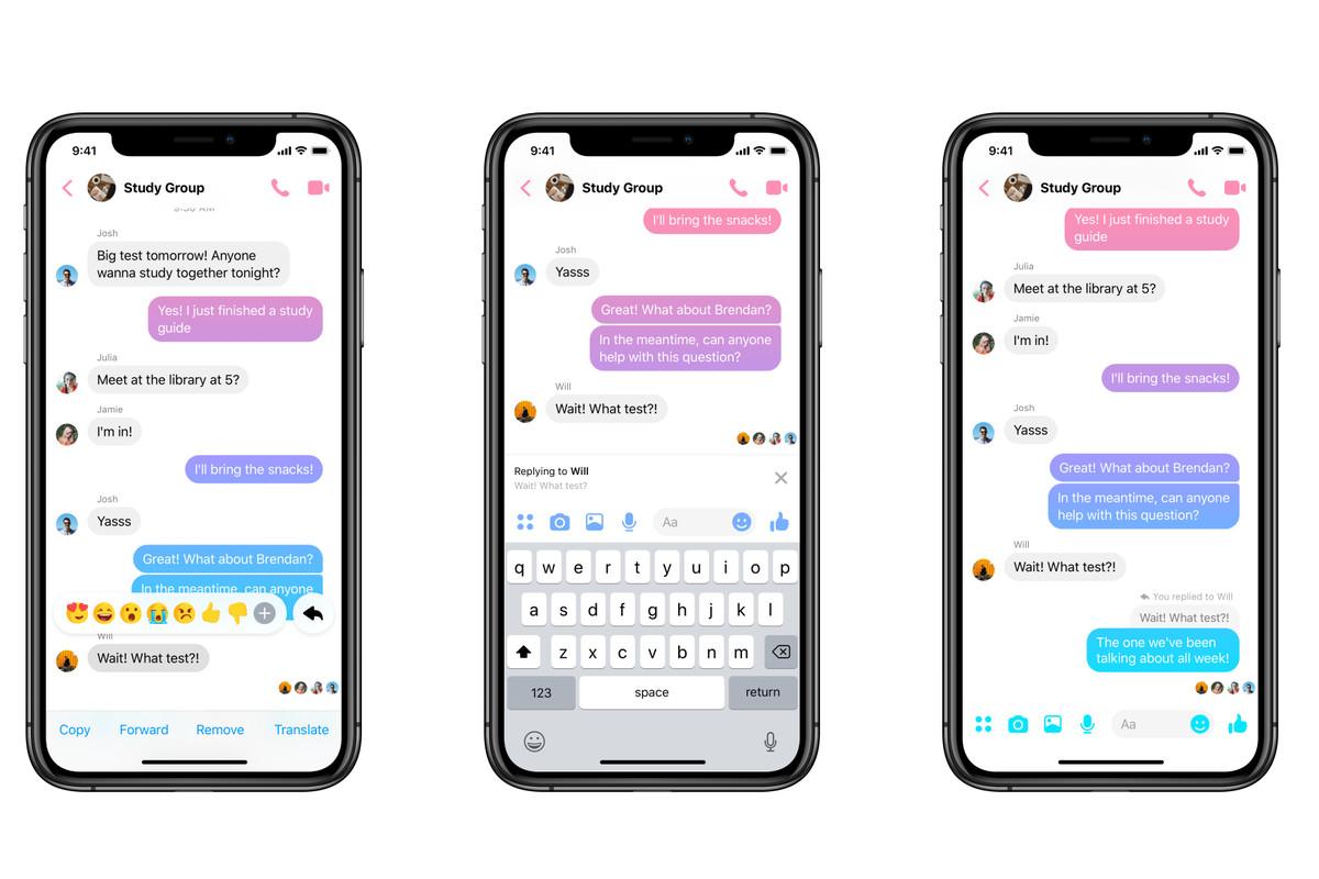 Facebook Messenger cho reply riêng từng tin nhắn, thoải mái spam groupchat không lo bị loạn - Ảnh 1.