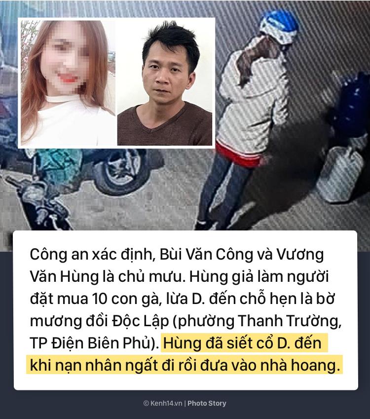 Những tình tiết gây sốc khi bắt giữ thêm 3 đối tượng liên quan vụ trọng án nữ sinh giao gà bị sát hại, cưỡng hiếp - Ảnh 15.