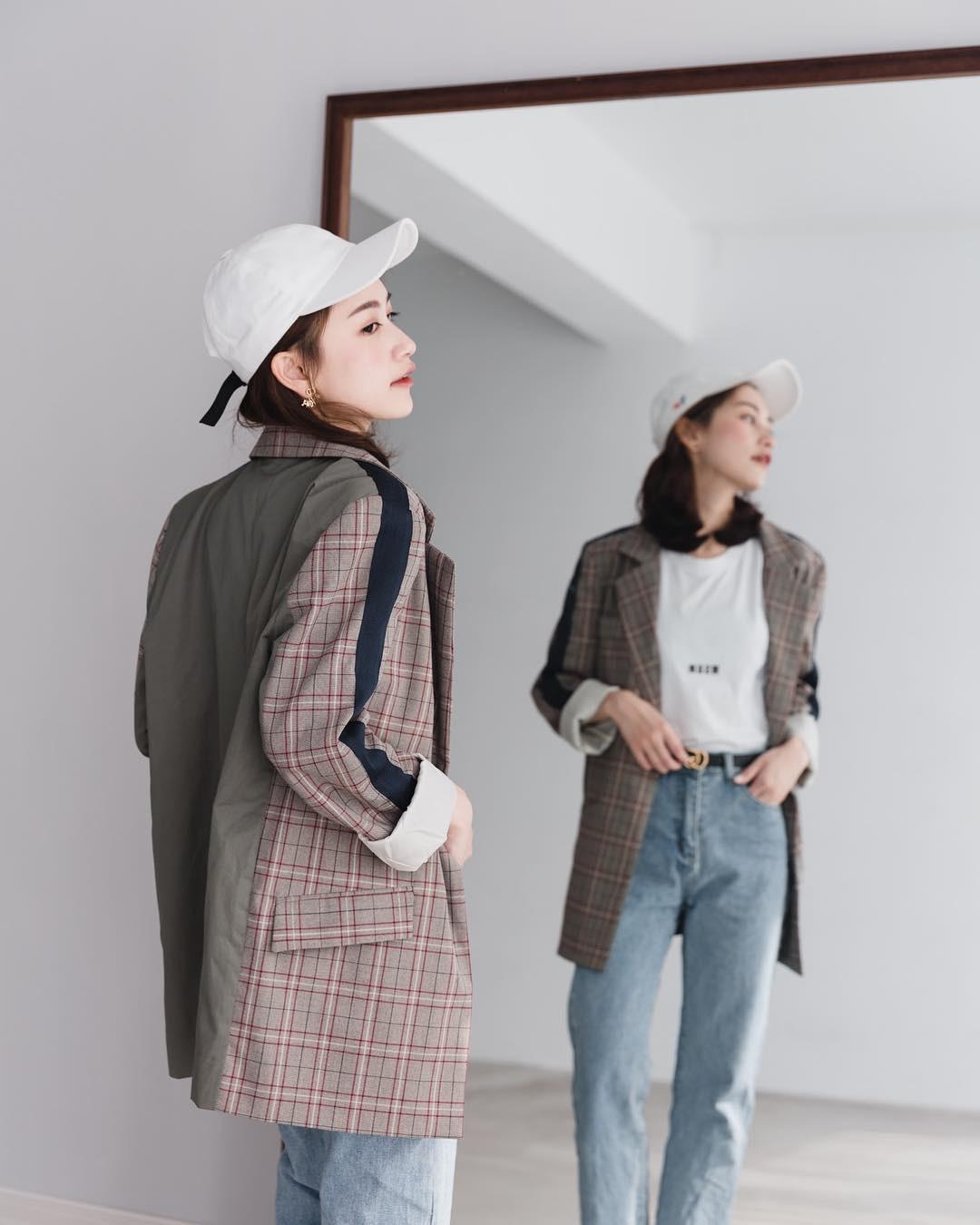 Có đến 4 style khác nhau từ cặp bài trùng quần jeans + blazer phục vụ các chị em công sở - Ảnh 12.