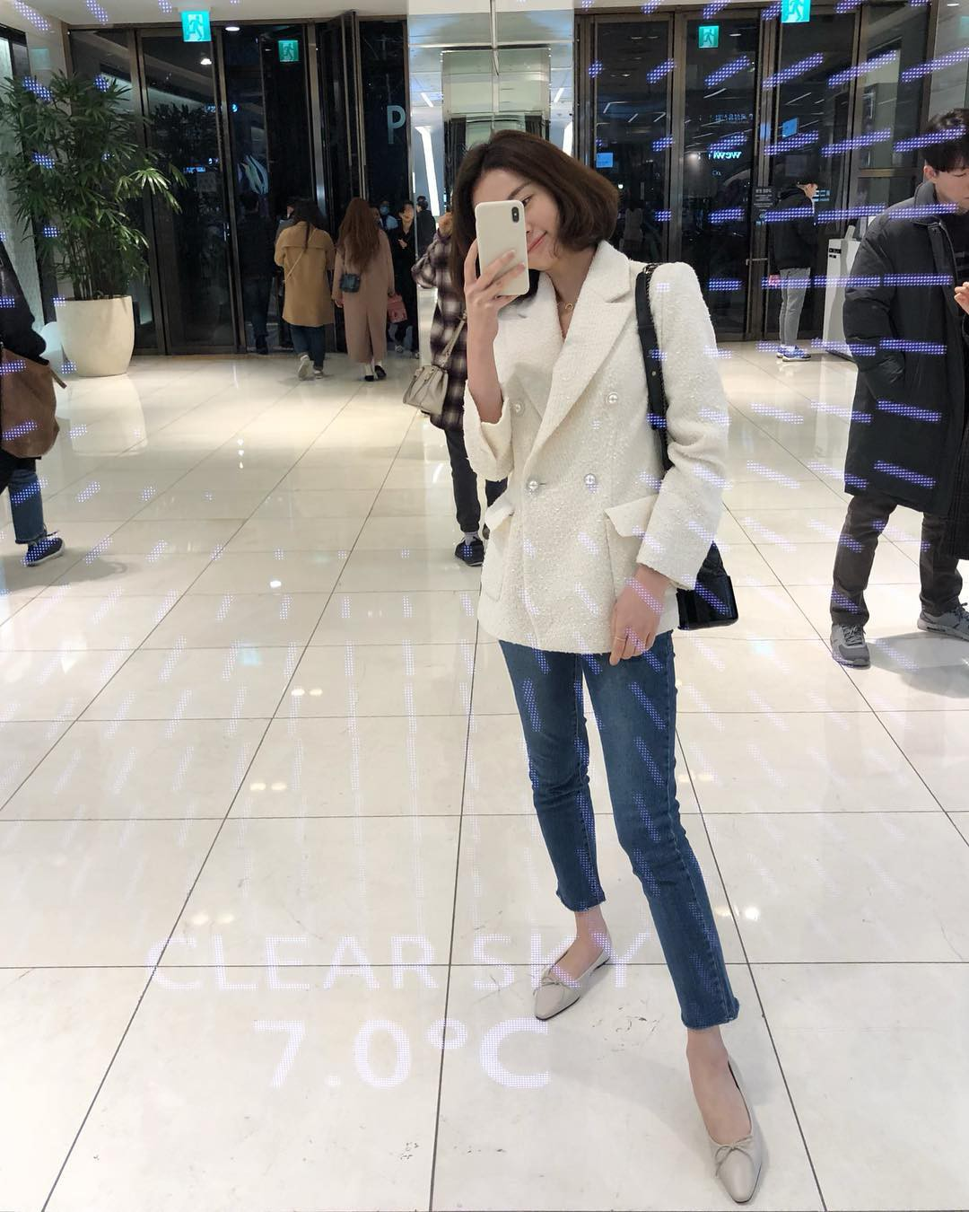 Có đến 4 style khác nhau từ cặp bài trùng quần jeans + blazer phục vụ các chị em công sở - Ảnh 7.