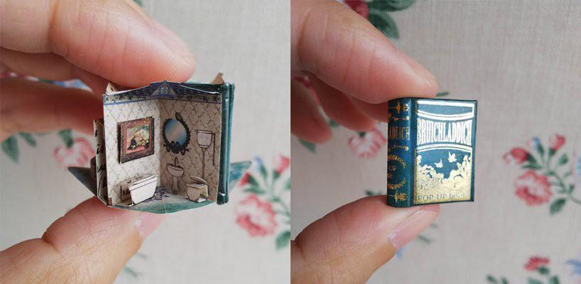 Lại là Nhật: Lật giở cả thế giới qua loạt sách mô hình bé bằng móng tay, giá khởi điểm 370.000 đồng/bộ - Ảnh 5.