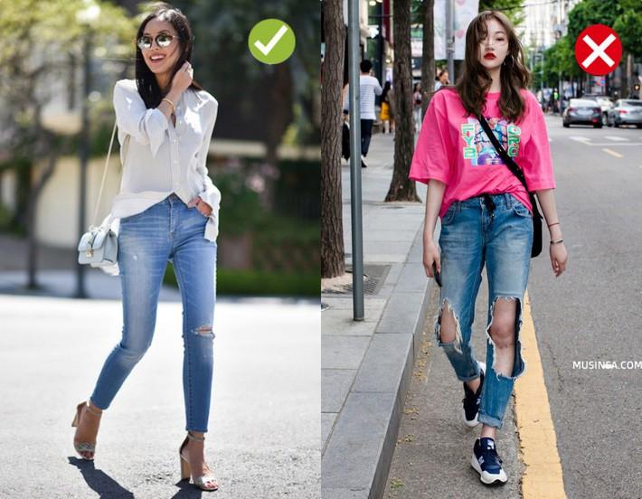 Chạm ngưỡng 30: Kiểu quần jeans nào là chân ái tôn dáng nịnh chân, kiểu quần nào cần loại bỏ ngay và luôn - Ảnh 1.