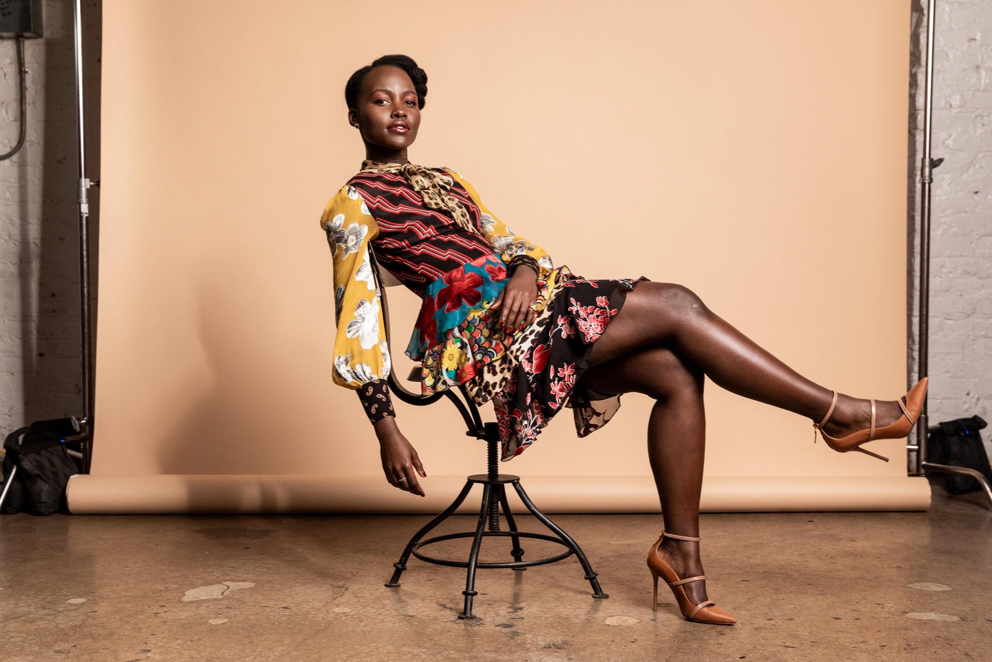 Nữ chính Us Lupita Nyongo: Xuất thân quý tộc Kenya, là biểu tượng thời trang Hollywood, 31 tuổi thắng Oscar - Ảnh 4.
