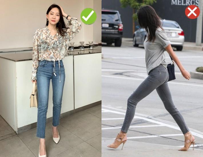 Chạm ngưỡng 30: Kiểu quần jeans nào là chân ái tôn dáng nịnh chân, kiểu quần nào cần loại bỏ ngay và luôn - Ảnh 7.