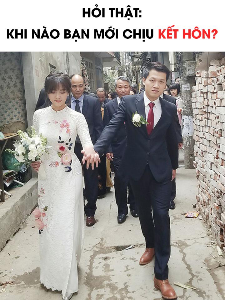 Hỏi thật: Khi nào bạn mới chịu kết hôn? - Ảnh 1.