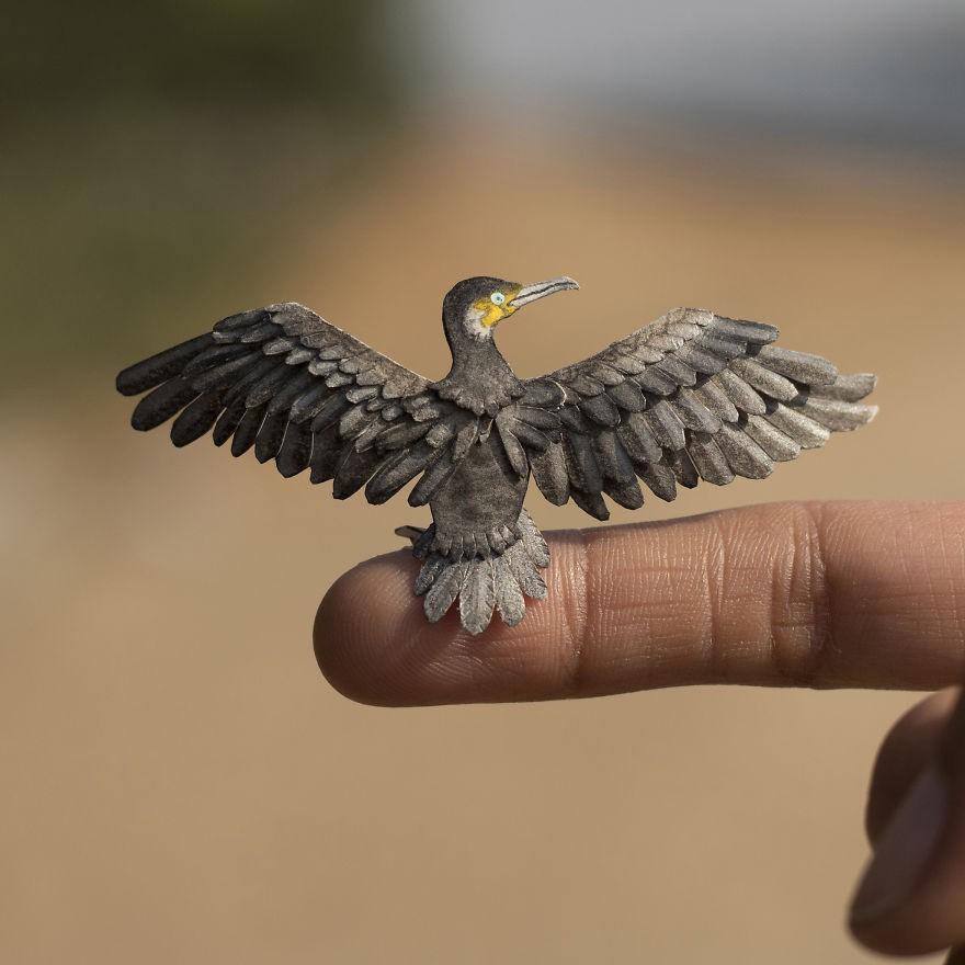 Kinh ngạc trước loạt chim bé bằng móng tay nhưng thông điệp mà chúng truyền tải mới là điều ý nghĩa - Ảnh 10.
