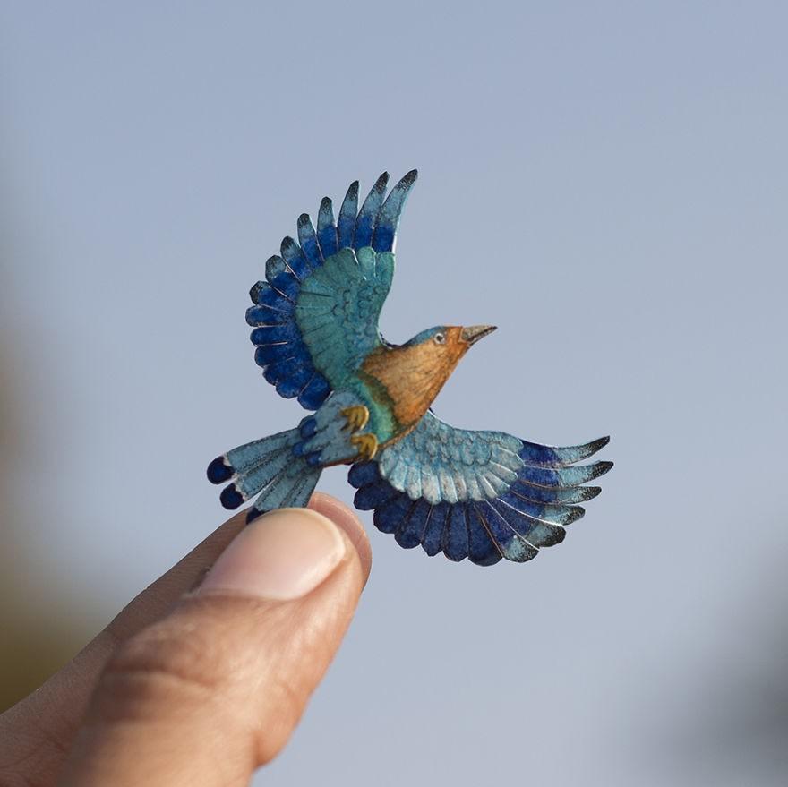 Kinh ngạc trước loạt chim bé bằng móng tay nhưng thông điệp mà chúng truyền tải mới là điều ý nghĩa - Ảnh 12.