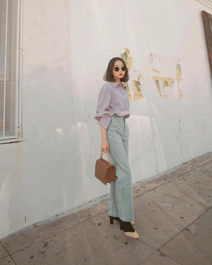 Lên đồ chuẩn như công sở Hàn với 15 gợi ý từ street style tuần này - Ảnh 14.