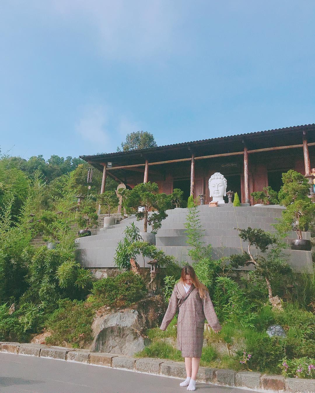 Chưa đi Nhật cũng đừng buồn, Việt Nam có hẳn 3 phiên bản chùa chiền có kiến trúc độc đáo cộp mác xứ sở mặt trời mọc đây này! - Ảnh 16.