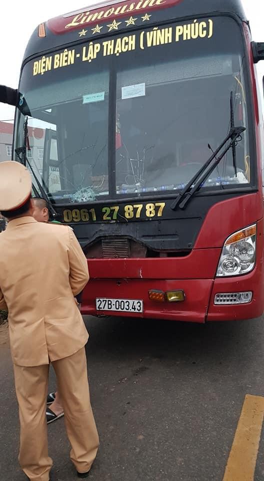 Xe khách gây tai nạn kinh hoàng ở Vĩnh Phúc hôm nay - Ảnh 4.