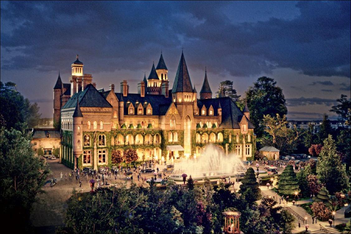 4 sự thật về toà lâu đài mà chỉ giới nhà giàu ở Mỹ mới dám thuê tổ chức đám cưới, Taylor Swfit là ngôi sao hiếm hoi từng quay MV ở đây - Ảnh 4.