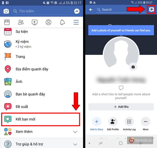 Tính năng Kết bạn mới trên Facebook đã update cho Android, đây là cách để dùng ngay lập tức - Ảnh 1.