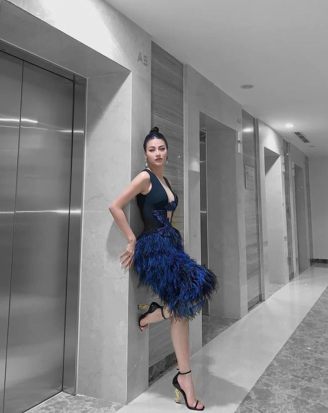Phương Khánh diện áo tắm khoe thân hình chuẩn đồng hồ cát, catwalk tự tin sau nỗ lực giảm cân - Ảnh 5.
