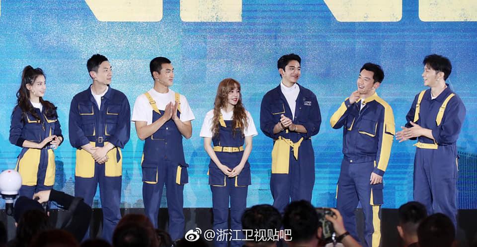 Running Man Trung Quốc ra mắt đội hình mới, Angela Baby không còn là thành viên... nấm lùn nhất - Ảnh 1.