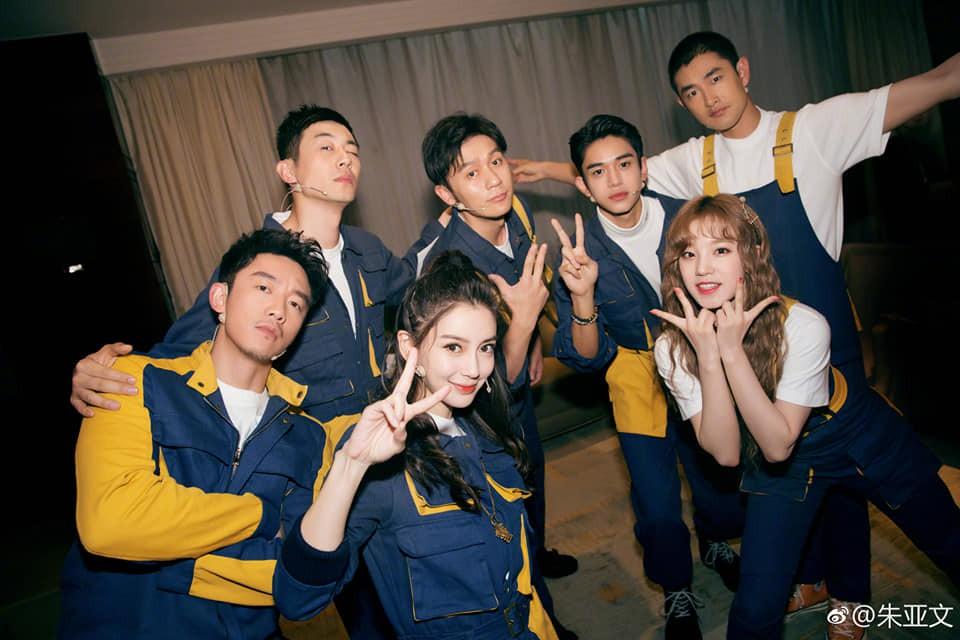 Running Man Trung Quốc ra mắt đội hình mới, Angela Baby không còn là thành viên... nấm lùn nhất - Ảnh 4.