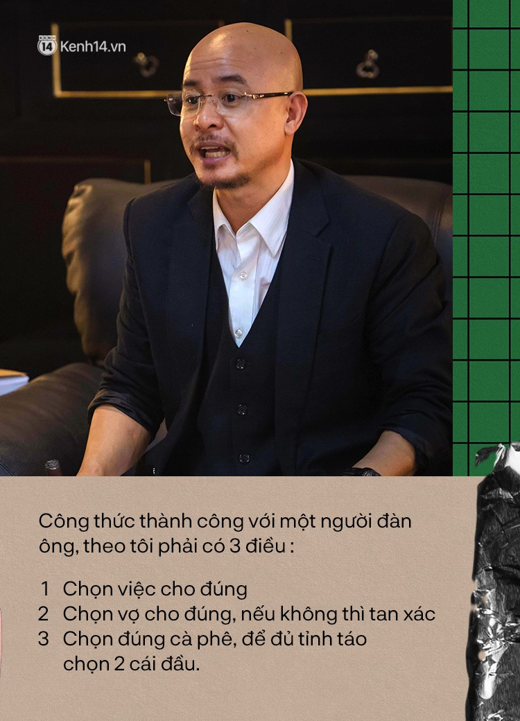 Vua cà phê Trung Nguyên và loạt phát ngôn về vai trò của đàn ông - phụ nữ gây tranh cãi - Ảnh 1.