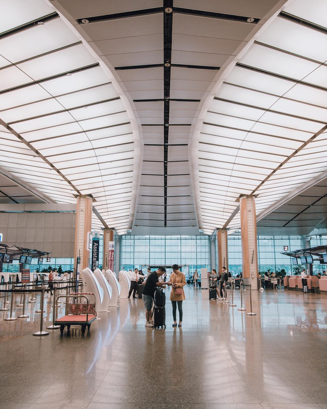 Há hốc mồm với không gian siêu hoàng tráng bên trong sân bay được bình chọn tốt nhất thế giới suốt 7 năm liền - Ảnh 3.