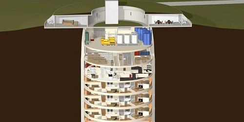 Hầm trú ẩn 'ngày tận thế' 3 triệu USD của giới nhà giàu Mỹ: Đủ cho 75 người sống trong 5 năm - Ảnh 2.