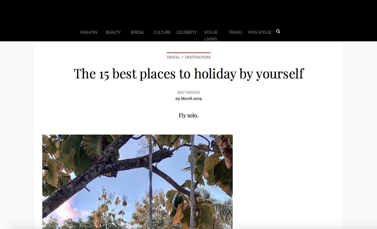 Tạp chí Vogue Úc đánh giá Việt Nam là 1 trong 15 nơi tuyệt vời để đi du lịch một mình - Ảnh 1.
