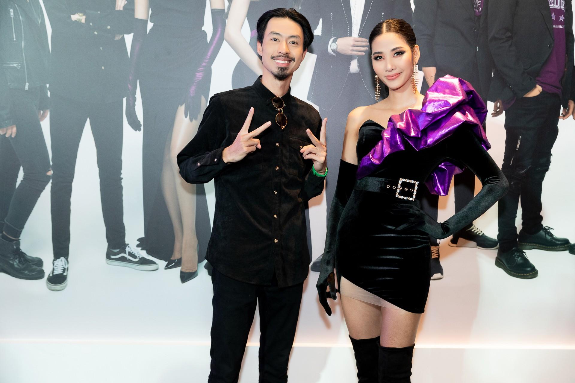 Hoa hậu Hương Giang hờ hững khoe vòng 1 gợi cảm, rapper Đen Vâu cực ngầu hội ngộ dàn sao Việt - Ảnh 6.