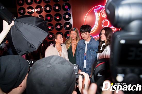 Cao tận 1m85, Chanyeol sao lại như nhóc tỳ bên Gigi Hadid và dàn mỹ nhân Hollywood thế này? - Ảnh 2.