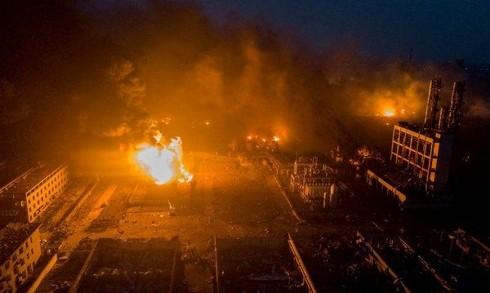 7 người thiệt mạng trong vụ nổ tại tỉnh Giang Tô, Trung Quốc - Ảnh 1.