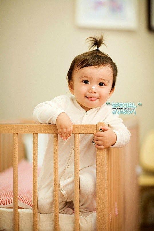 Diện mạo hiện tại của Mason Moon - nhóc tỳ hot nhất châu Á một thời, đáng chú ý nhất lại chính là ông bố cực phẩm của đứa trẻ - Ảnh 1.