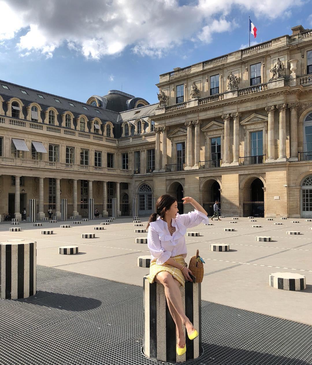 Hoá ra không chỉ Quỳnh Anh Shyn hay Quang Đại mà bất cứ ai đến Paris cũng đều check-in tại địa điểm này - Ảnh 5.