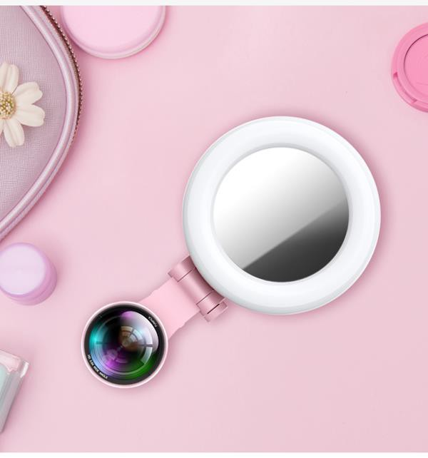 Gương selfie cảm ứng kiêm ống kính góc rộng: Chạm nhẹ là có mặt V-line, da trắng thêm vài tông - Ảnh 1.