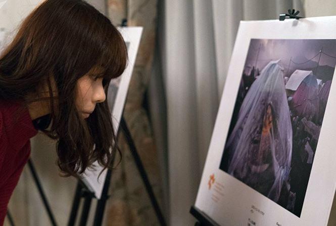 Cuộc thi ảnh báo chí quốc tế Andrei Stenin mở triển lãm tại Tokyo - Ảnh 1.