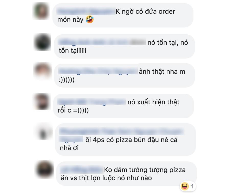 Pizza bún đậu mắm tôm: sự kết hợp khiến cộng đồng mạng nghe thôi đã muốn chao đảo - Ảnh 3.