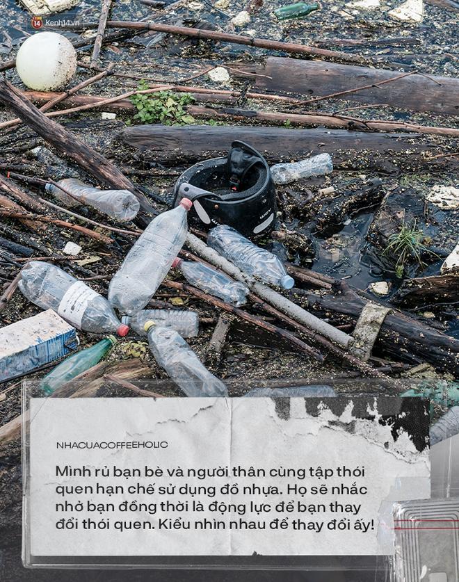 Chính chữ tiện đang giết chết môi trường, nên người trẻ đã nghĩ nhiều hơn khi nhận 1 cái túi nilon hay 1 cái ống hút nhựa - Ảnh 4.