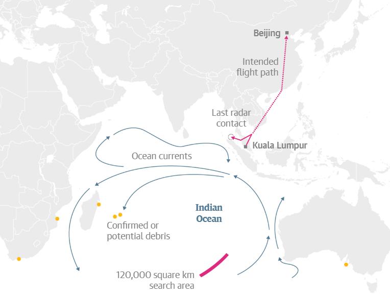 Chuyến bay MH370: Tròn 5 năm từ ngày biến mất và 5 giả thiết đáng sợ được giới chuyên gia tiếp tục giải mã - Ảnh 2.