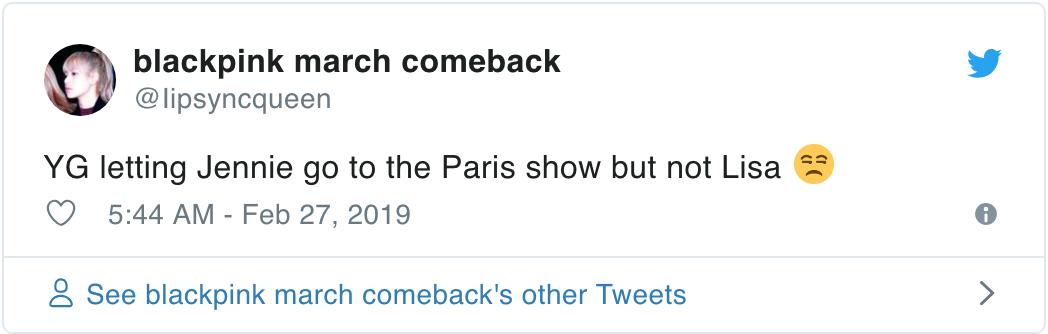 Netizen tố YG bất công vì để Jennie đi dự Paris Fashion Week còn Lisa thì không nhưng sự thật là gì? - Ảnh 4.
