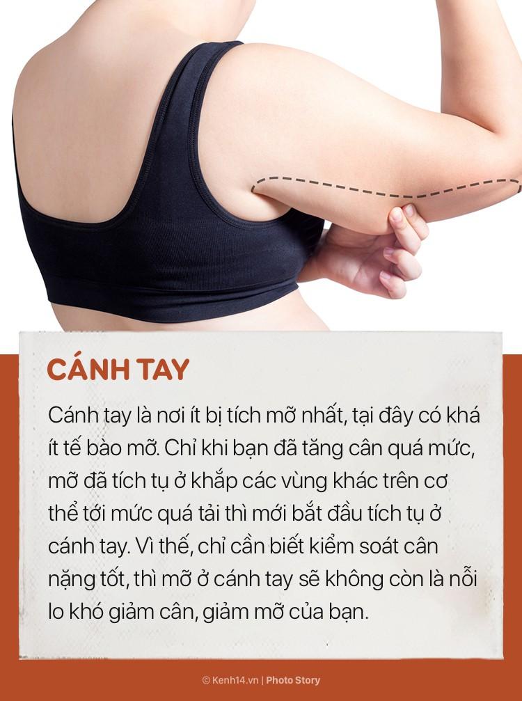 Trước khi tập luyện giảm cân, cần biết được những bộ phận khó giảm mỡ nhất trên cơ thể - Ảnh 9.