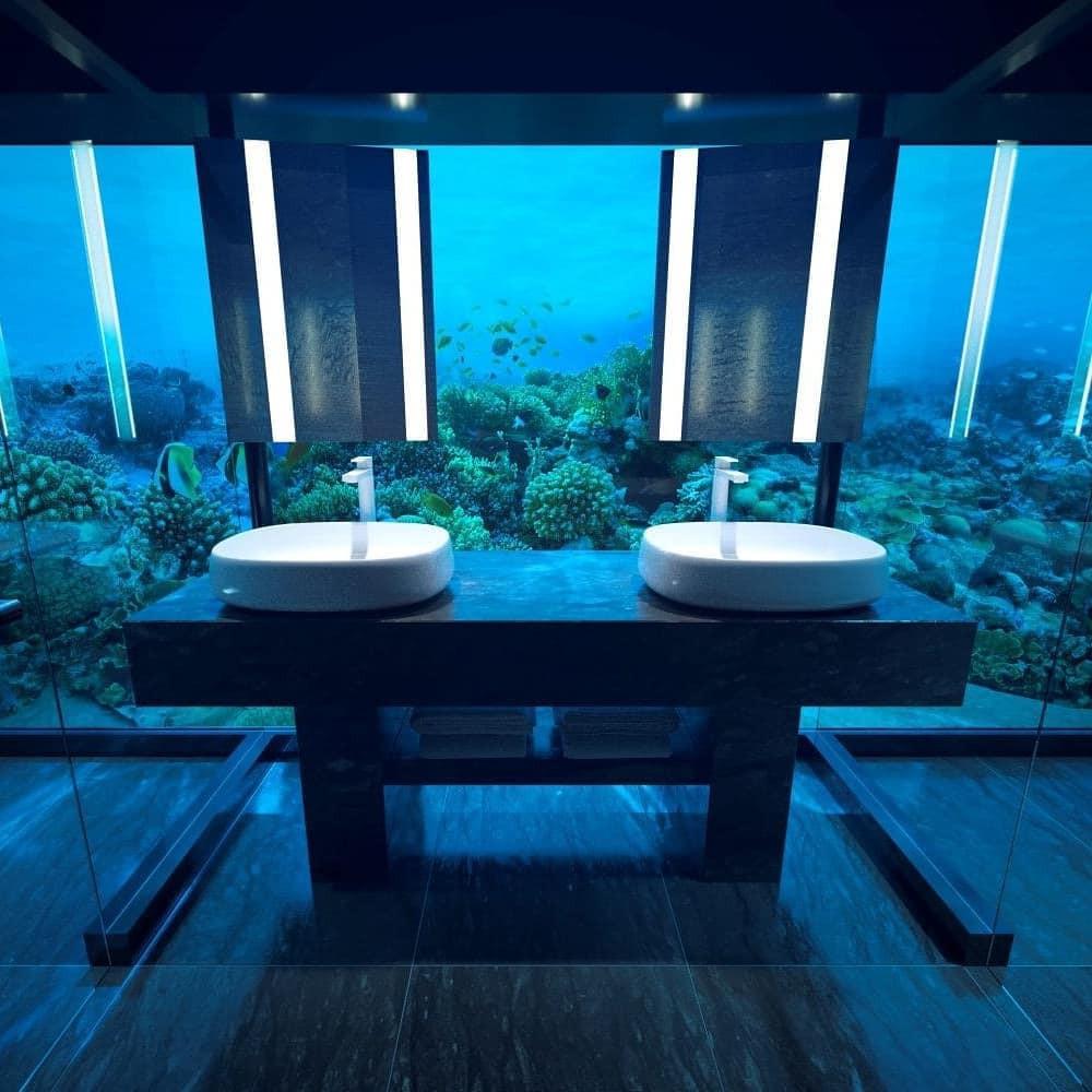 Loá mắt với khách sạn triệu đô dưới đáy biển Ấn Độ Dương mà chỉ giới siêu giàu mới đủ tiền thuê - Ảnh 7.
