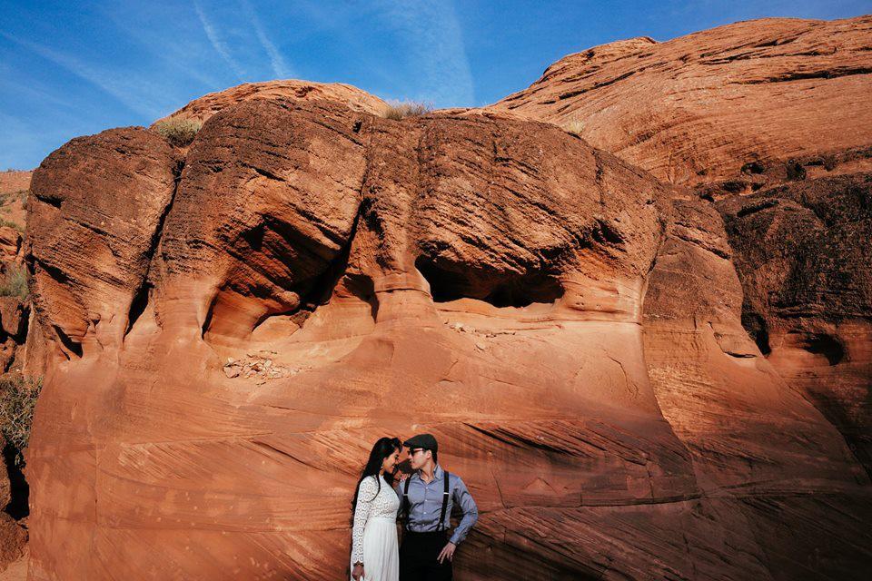 Choáng toàn tập với loạt kỳ quan nước Mỹ trong bộ ảnh cưới của cựu hoa khôi Du học sinh Việt - Ảnh 2.