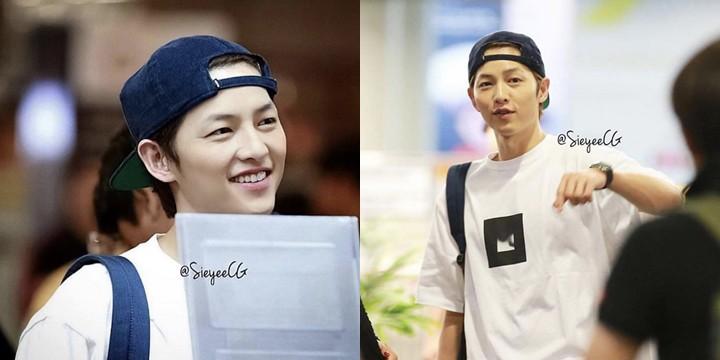 Ngọt ngào như Song Song giữa tâm bão: Song Joong Ki vội về nhà gặp Song Hye Kyo để mừng ngày 8/3? - Ảnh 1.