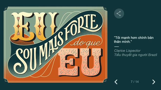 Google tôn vinh 8/3 theo cách không thể đặc biệt hơn: Thiết kế hình ảnh chưa từng có - Ảnh 8.