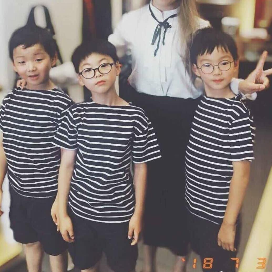 Song Il Gook nói về 3 cậu quý tử Daehan - Minguk - Manse: Chỉ sợ 3 đứa đi học sẽ bắt nạt các bạn khác - Ảnh 2.