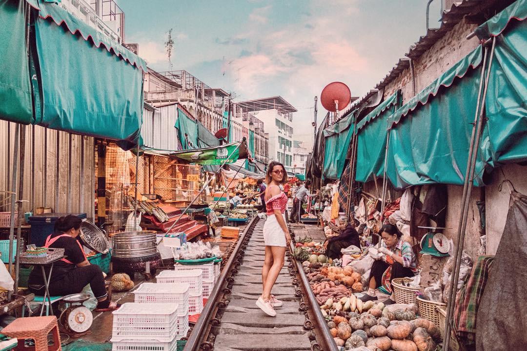 Đã dò ra đường đến khu chợ đường ray độc nhất vô nhị nằm ở ngoại ô Bangkok - Ảnh 4.