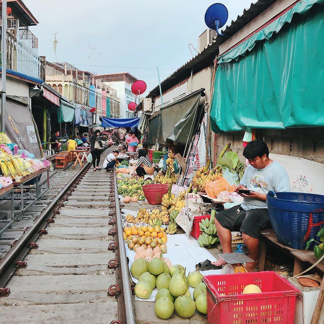 Đã dò ra đường đến khu chợ đường ray độc nhất vô nhị nằm ở ngoại ô Bangkok - Ảnh 15.