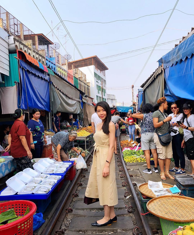 Đã dò ra đường đến khu chợ đường ray độc nhất vô nhị nằm ở ngoại ô Bangkok - Ảnh 8.
