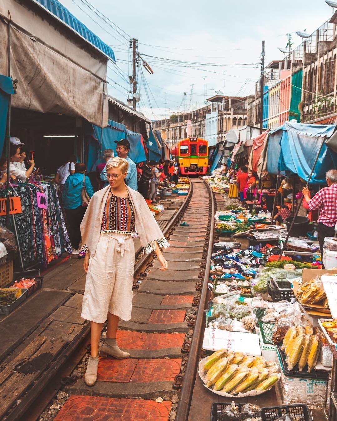Đã dò ra đường đến khu chợ đường ray độc nhất vô nhị nằm ở ngoại ô Bangkok - Ảnh 9.